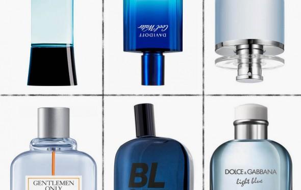 Όλα είναι μπλε: Τα 8 αντρικά αρώματα-αγάπες για το καλοκαίρι