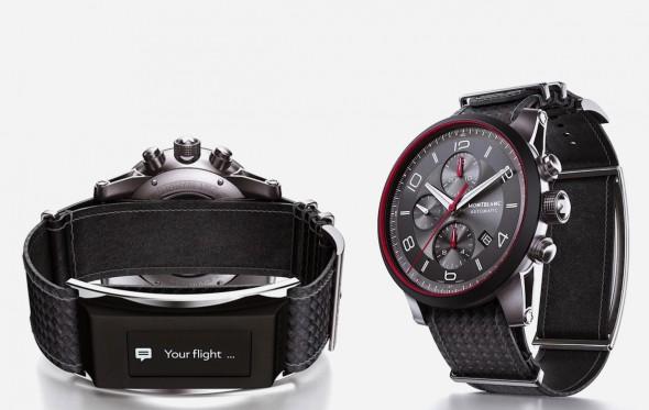 Η Montblanc ρίχνει (κυριολεκτικά) στ' αφτιά των smartwatches