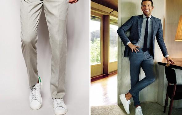 Τα sneakers φοριούνται με κοστούμι;
