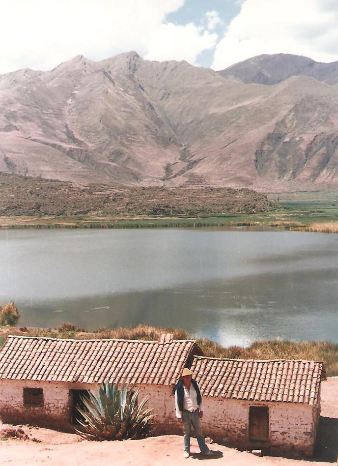1988. Λίμνη εξω από το Κούσκο. Φωτο: Κωνσταντίνος Γκόφας
