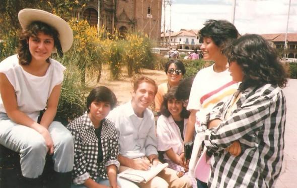 Όταν ήρθα αντιμέτωπος με τον όρχι του ταύρου στα υψίπεδα του Περού