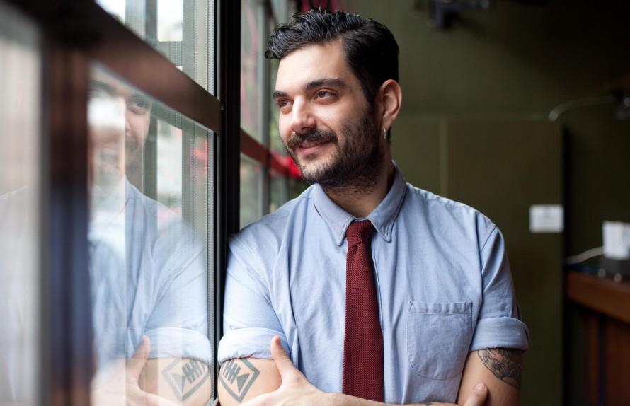 Ο Marko Rossi είναι ιδρυτής του maintanos.com και σεφ του εστιατορίου Nixon.