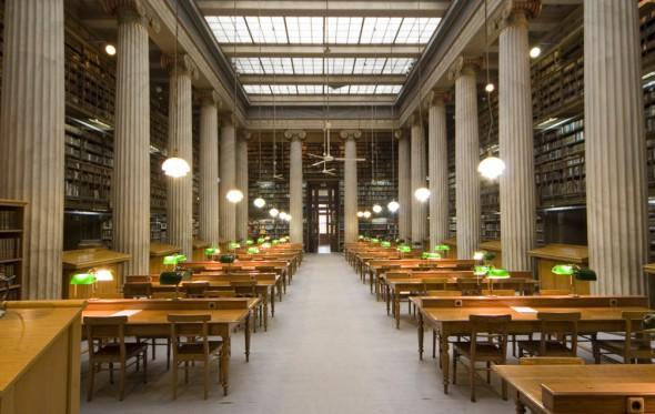 Υπάρχουν ακόμα βιβλιοθήκες στην Αθήνα;