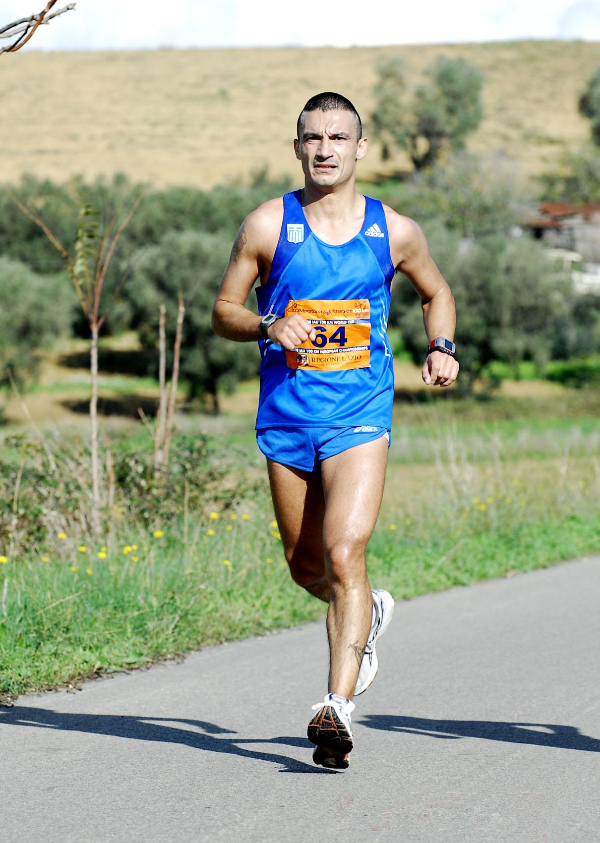 Πανευρωπαικό πρωτάθλημα 100 χλμ 2008 Ιταλια