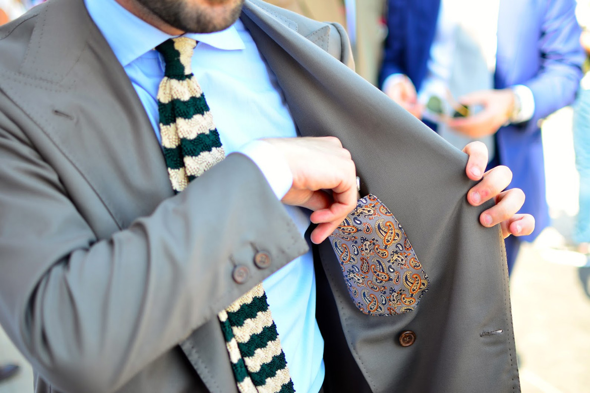 Το σακ'ακι που ράφτηκε για τον Fabio Attanasio απο τον Gennaro Annunziata- Chiaia Napoli. Photo Credit: thebespokedudes.com