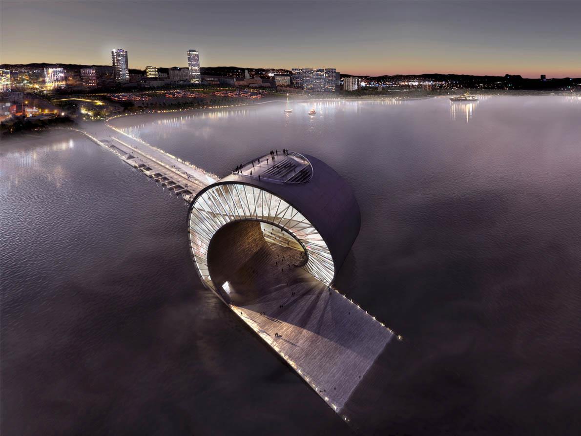 St. Petersburg Pier, των BIG architects