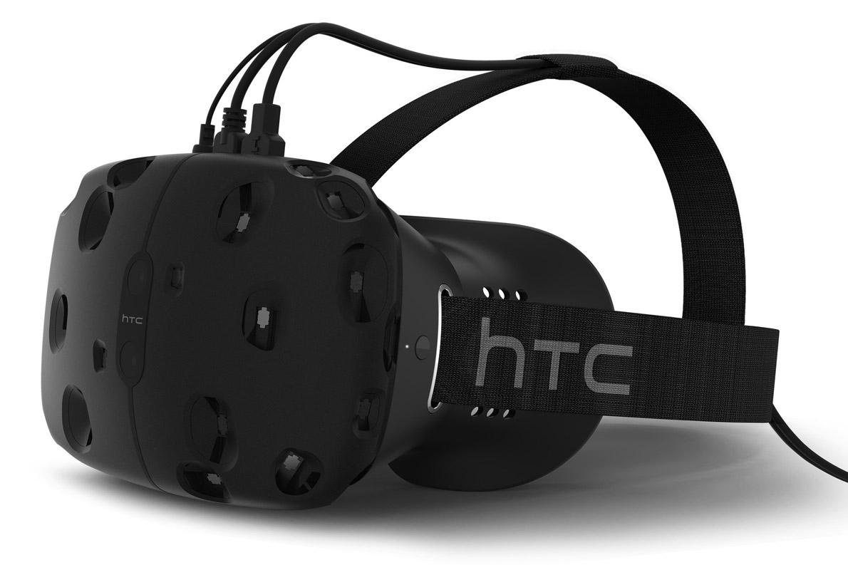 Το VR Headset της HTC σχεδιάστηκε από τη Valve και αναμένεται να κυκλοφορήσει φέτος.