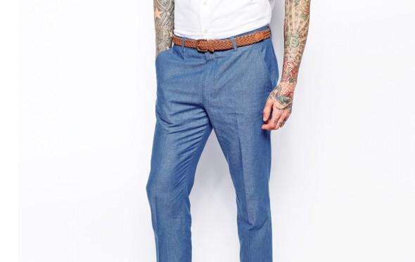 Τι ζώνη με το λινό μου παντελόνι;