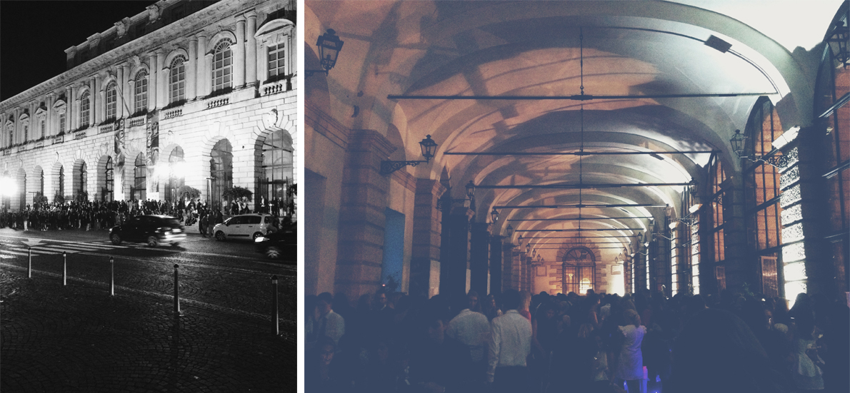 Η βραδιά σφραγίστηκε με ένα σούπερ πάρτι στο Palazzo della Gran Guardia, απέναντι από την Όπερα.