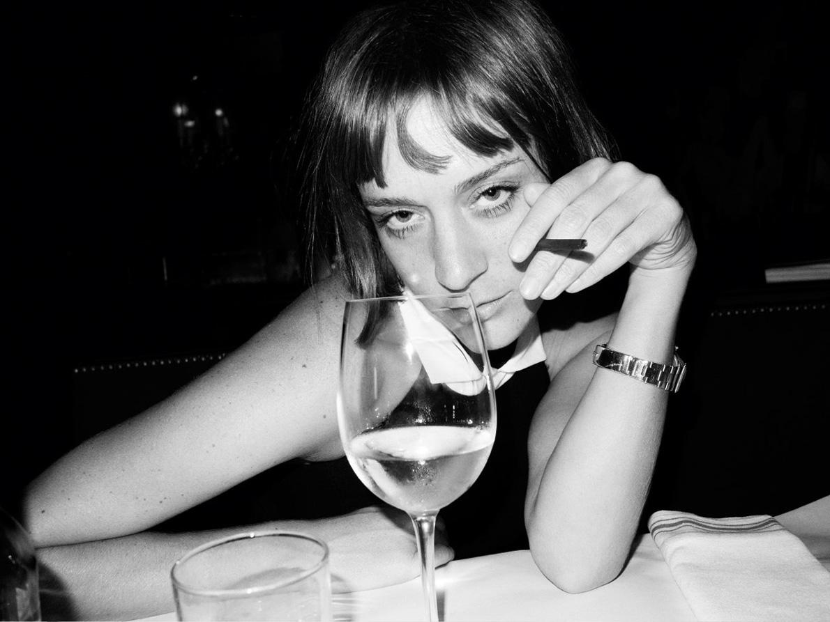 Dinner with Cloe Sevigny at the Waverly Inn, 2011