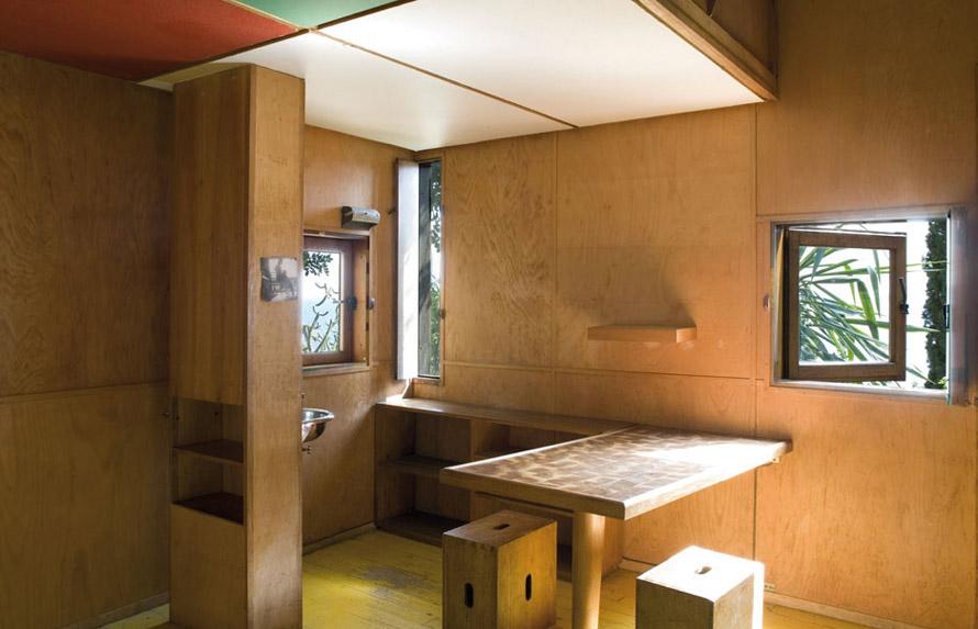H καλύβα του Le Corbusier