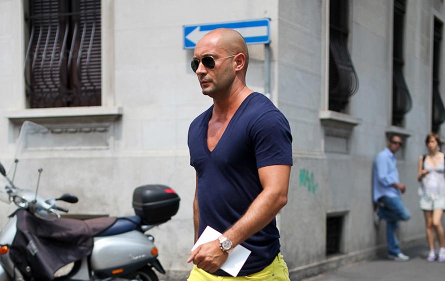 O Milan Vukmirovic, μέσα από το φακό του street photographer Lee Oliveira.