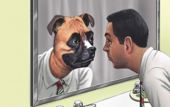 Μπροστά στον καθρέφτη