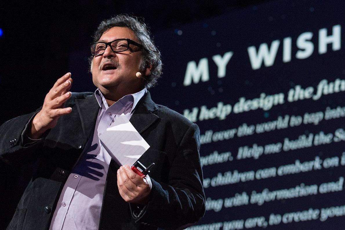 Sugata Mitra στο TED