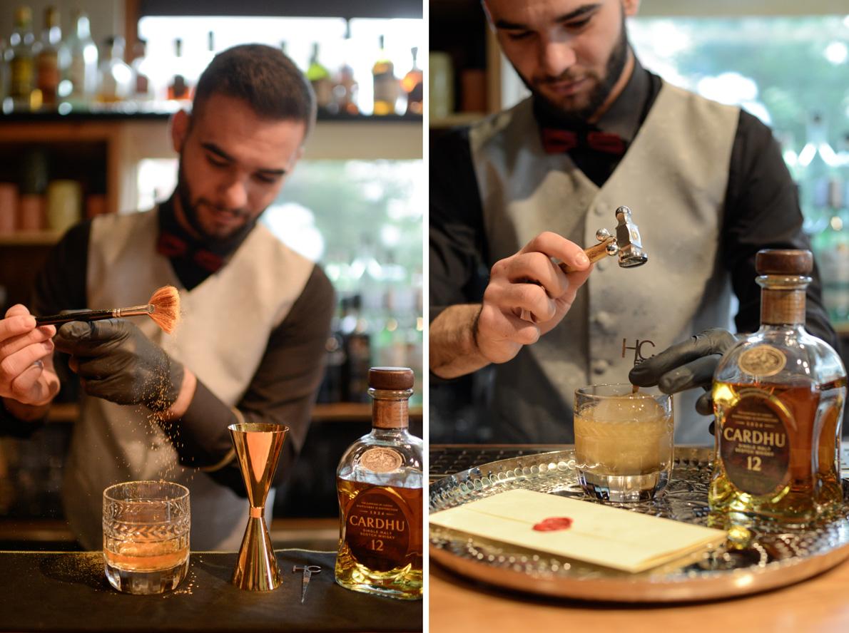 Κώστας Χατζηαββάς, από το «Recipe Bar», Αθήνα.
