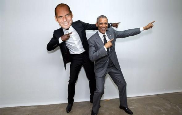 Ο Γιάνης, το Χριστινάκι, ο ζηλιάρης Ομπάμα και η ανύπαρκτη διαπραγμάτευση
