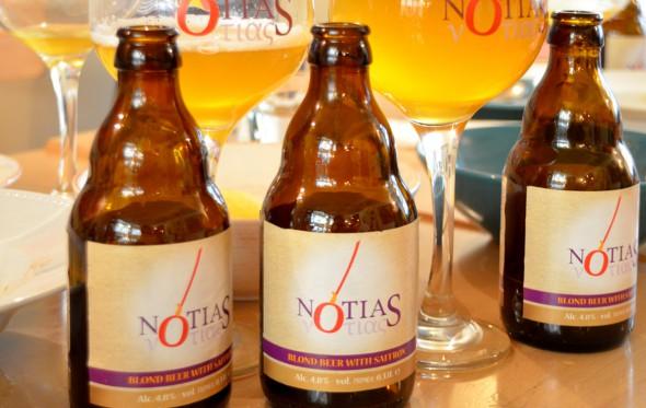 Μια βέλγικη μπίρα με ελληνικό σαφράν