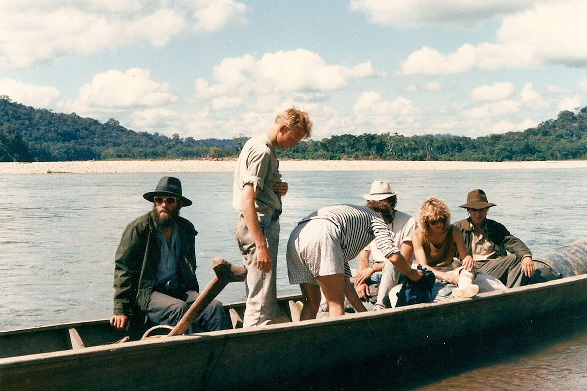 """""""Εν πλώ γιά το Manou"""". Φωτο Κ.Γκόφας 1988"""