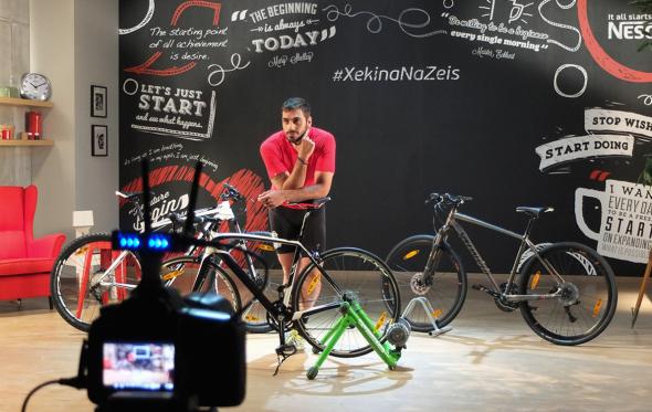 Αποφάσισες να βάλεις επιτέλους το ποδήλατο στη ζωή σου; Πάτα play!