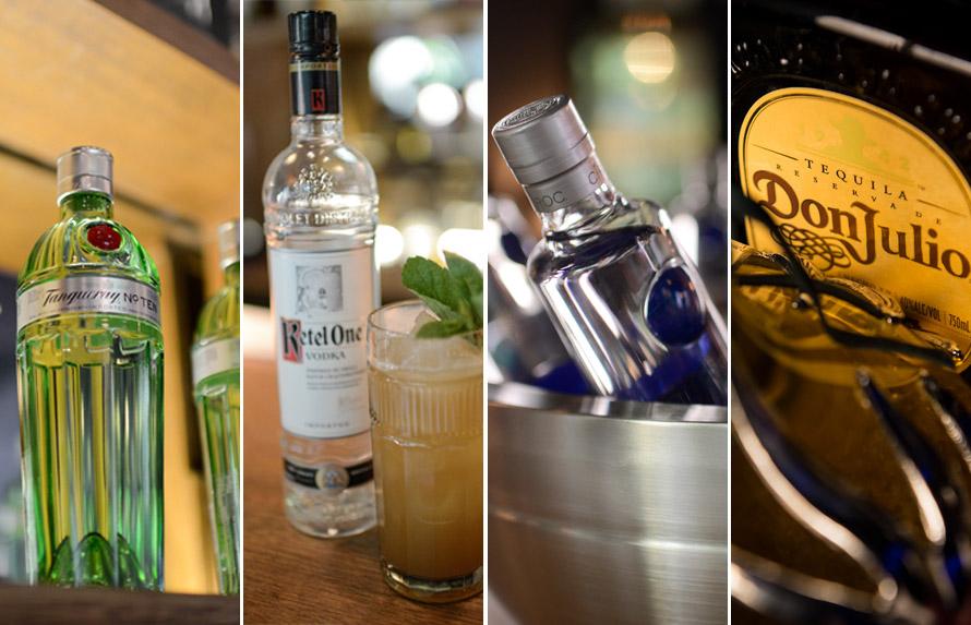 Αυτήν τη φορά, οι υποψήφιοι θα έχουν στη διάθεσή τους για τα κοκτέιλ τους τα λεγόμενα «white» spirits: το gin Tanqueray No. TEN, τις βότκες Ketel One και Ciroc , καθώς και ολόκληρη τη σειρά της τεκίλας Don Julio.