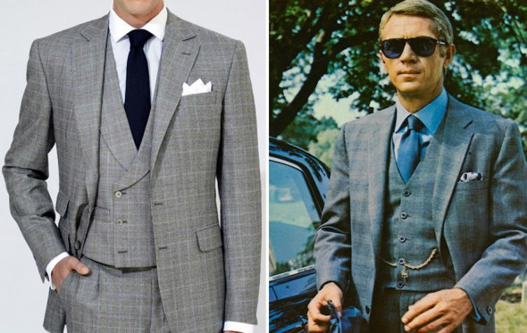 Με τι συνδυάζονται τα Prince de Galles κοστούμια;