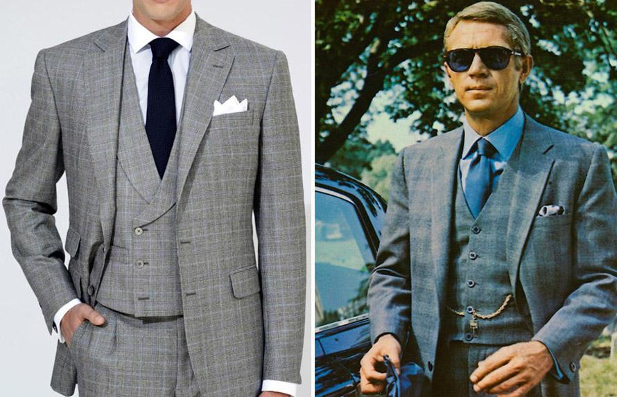 Με τι συνδυάζονται τα Prince de Galles κοστούμια  5731df3d037