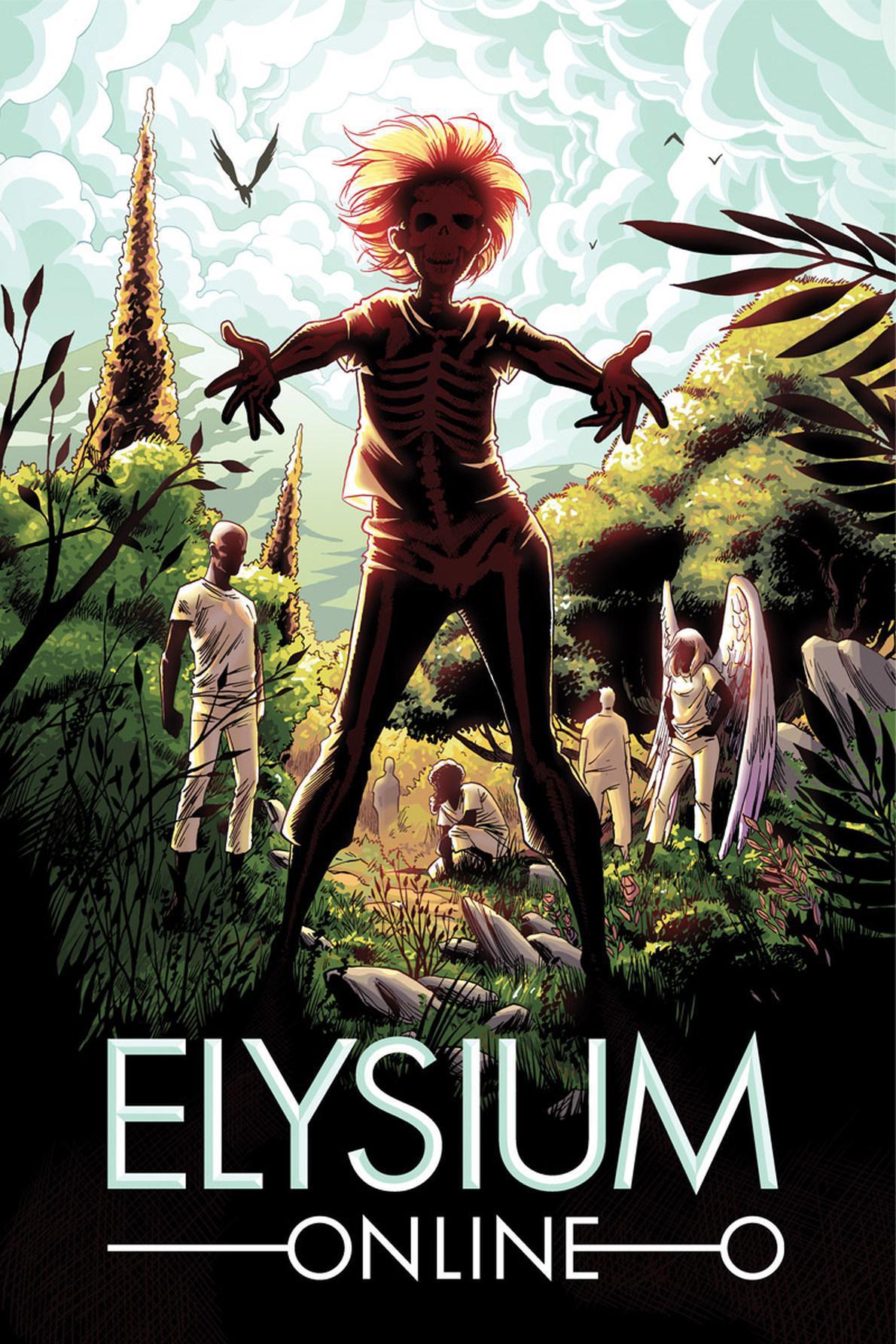 Το εξώφυλλο του πολυαναμενόμενου Elysium Online, που χρηματοδοτήθηκε από τον κόσμο.