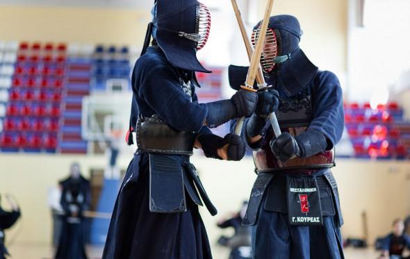 Μαθαίνοντας την τέχνη του Kendo στη Θεσσαλονίκη