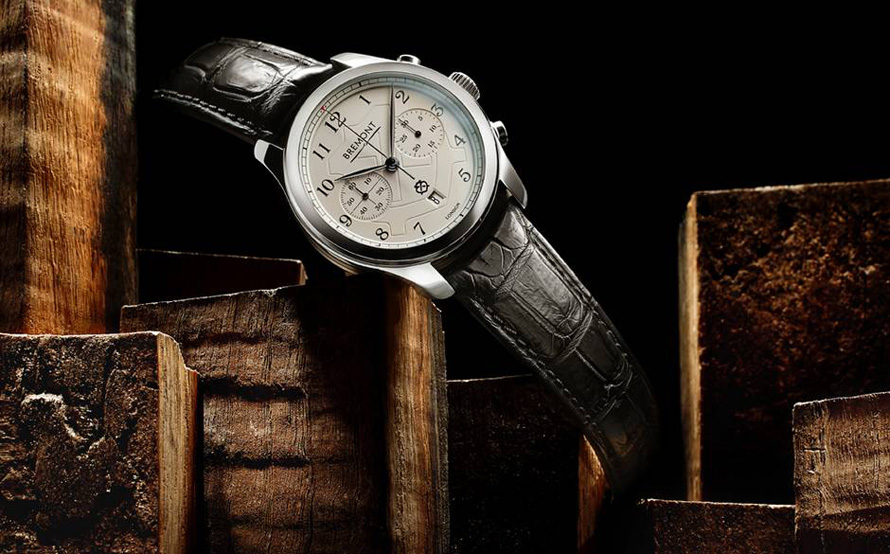 """Από την πλευρά της Bremont, η συνεργασία σφραγίστηκε με τη σειρά """"Bremont Chivalry limited edition"""", με 12 μόλις αριθμημένα ρολόγια."""