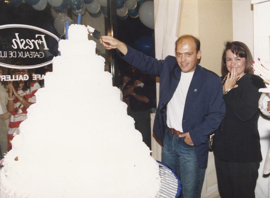 Στο πάρτυ για τα 10 χρόνια του «Fresh» (1992)
