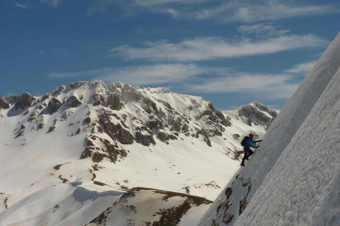 Βαρδούσια όρη, Μάρτιος 2013. «Τα βουνά της χώρας μας το χειμώνα προσφέρουν τις δικές τους συγκινήσεις».