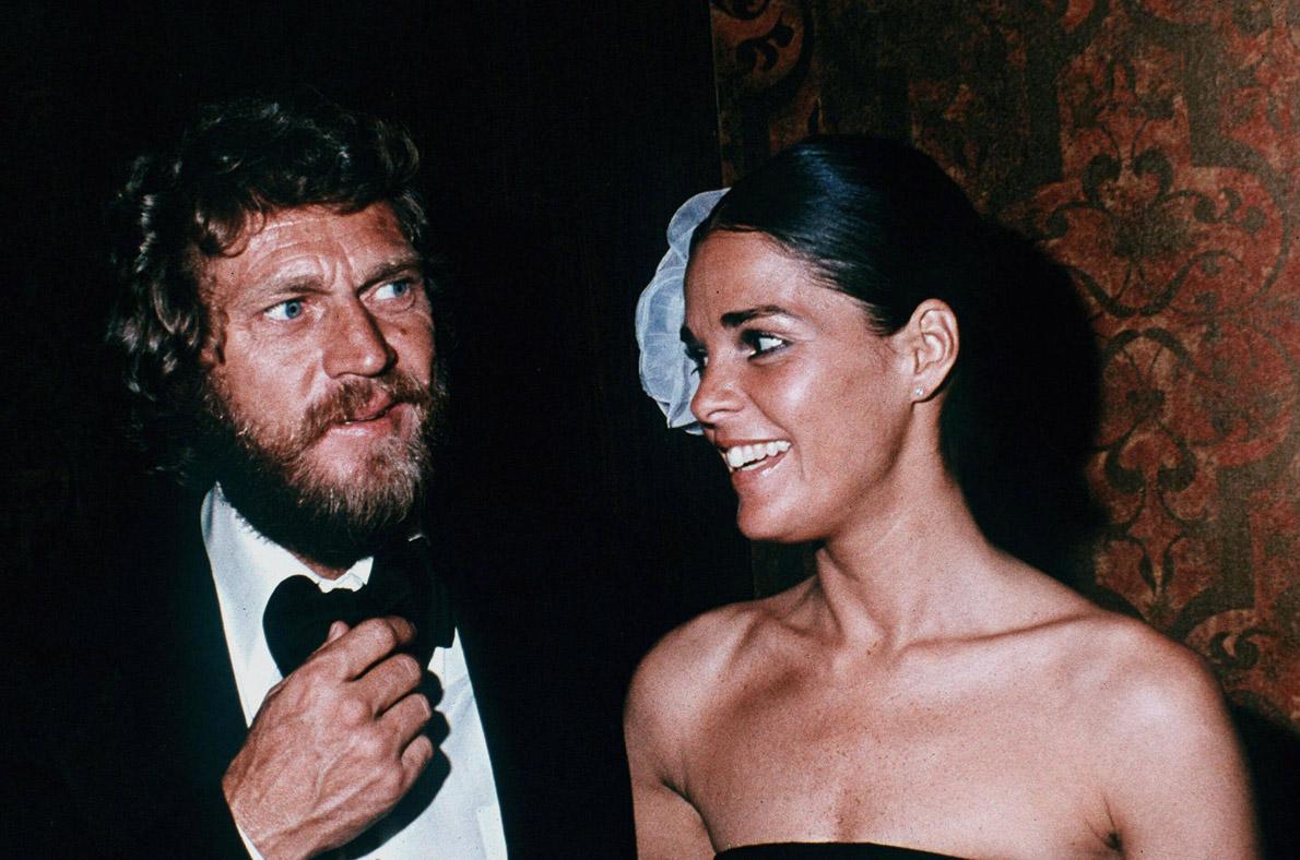 Με την δεύτερη συζυγό του, Άλι ΜακΓκρόου.
