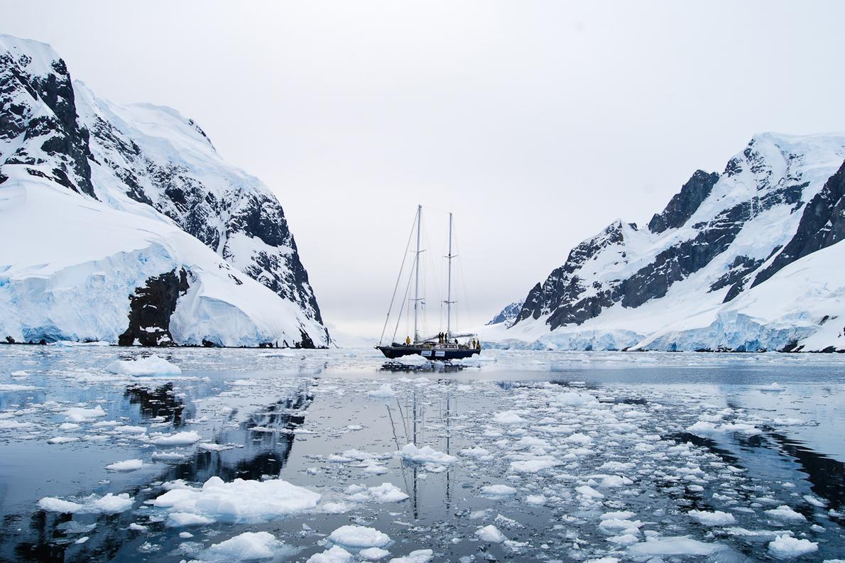 Θα μπορούσε να είναι μία καρτ ποστάλ από την Ανταρκτική