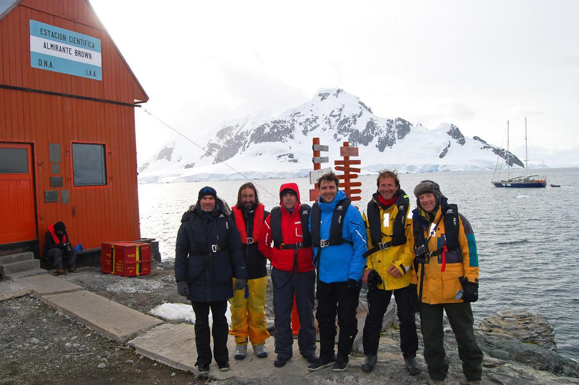 Επίσκεψη στην επιστημονική βάση Almirante Brown
