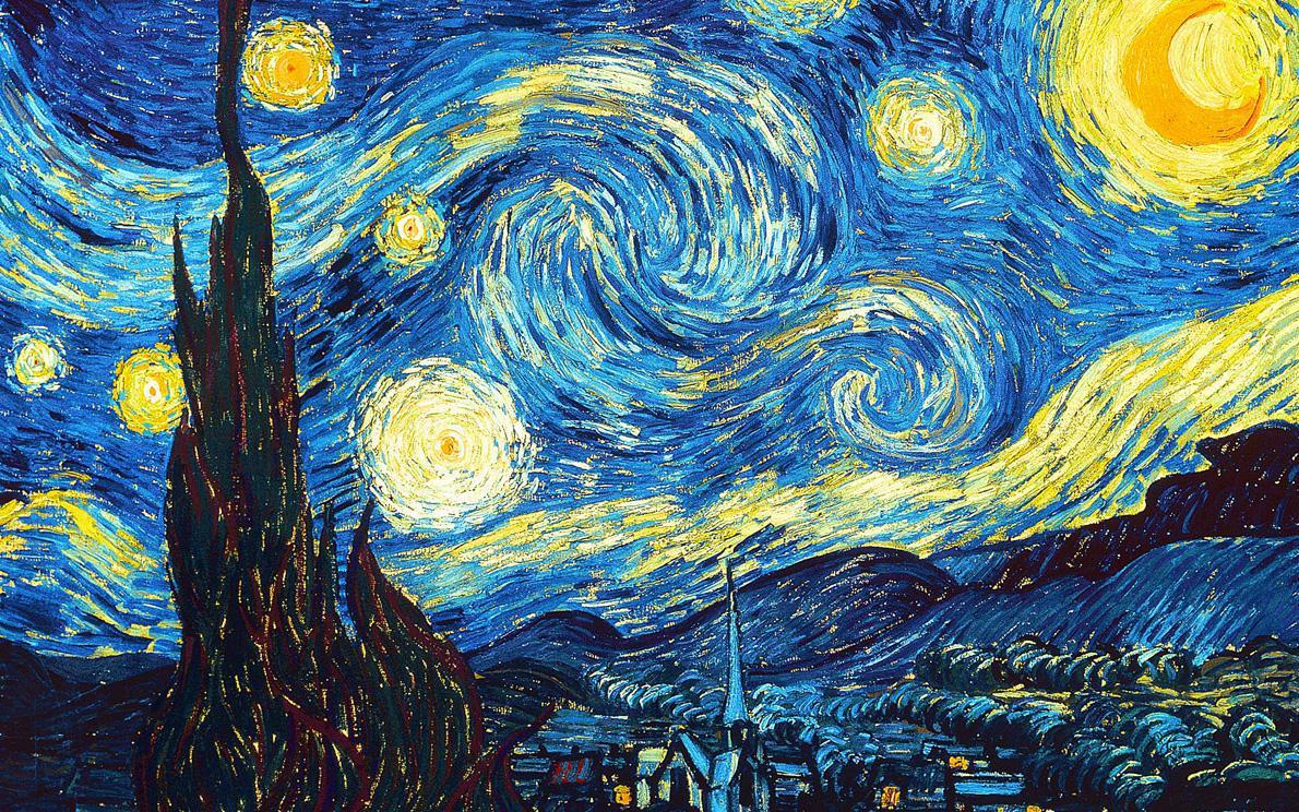Vincent Van Gogh, «Starry Night», 1889