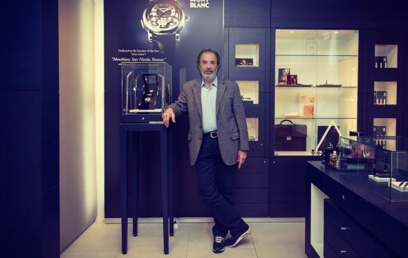 Τίμος Τζάννες, αποκλειστικός εισαγωγέας του οίκου Montblanc στην Ελλάδα